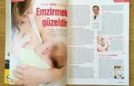 Anne Bebek Çocuk Dünyası Dergisi Eylül-Ekim 2014 Sayısındayım