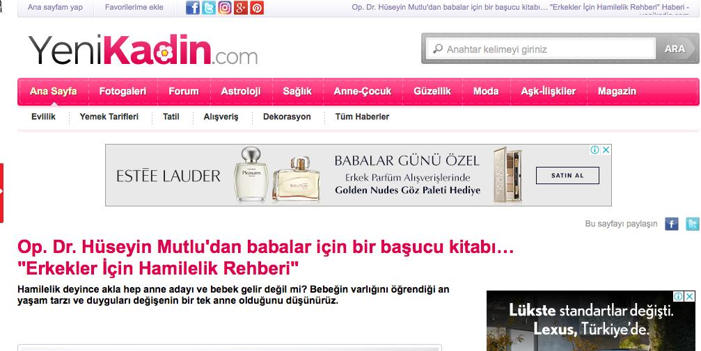 Yenikadin.com'dayım…